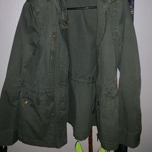 Forest Green Stylish Jacket
